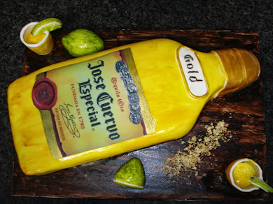 Cuervo Bottle Cake