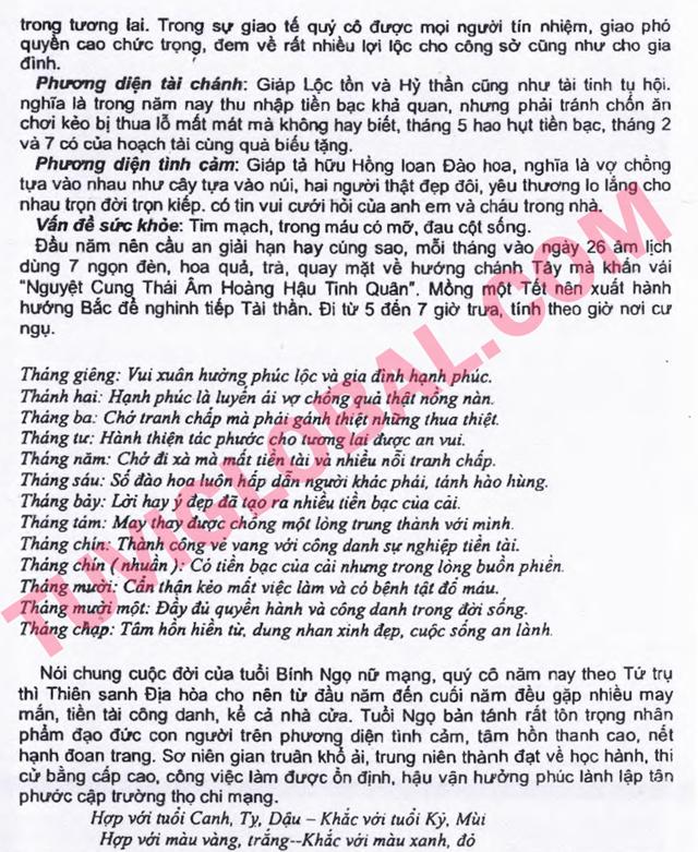 TỬ VI TUỔI BÍNH NGỌ 1966 NĂM 2014 GIÁP NGỌ - Blog Trần ...