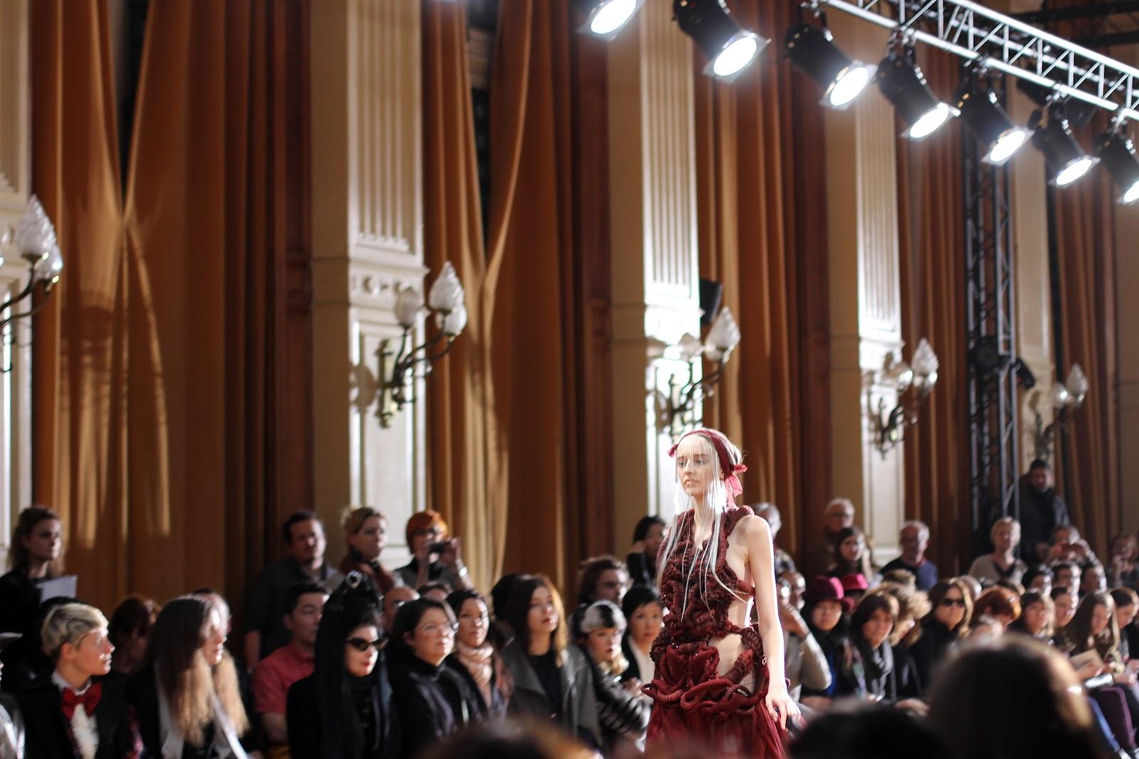 Yiqing Yin PE 2013 - Blog Mode - Fashion Week