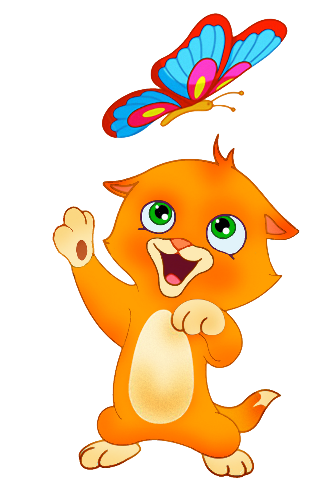 Dibujos a color gatos for Red transparente para gatos