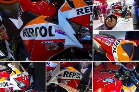 gambar CBR150R Marquez Edition