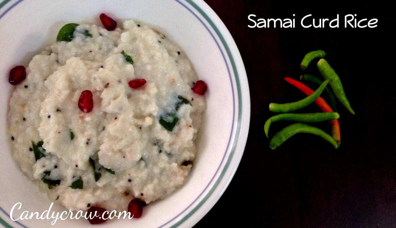 Samai Curd Rice | Millet Recipies