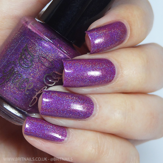 Gracefull Polish Dark Orchid