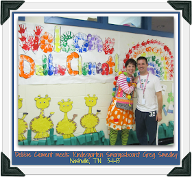 Debbie Clement visits Kindergarten Smorgasboard!