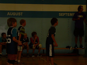 Grade 6 - 7 boys volleyball team
