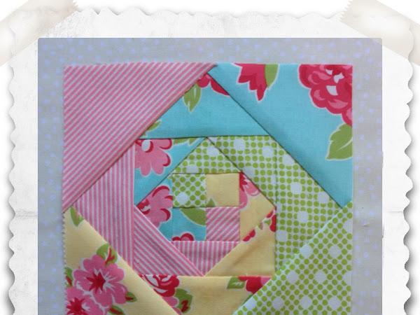 Chatelaine- Free BOW Sampler Quilt Block 39