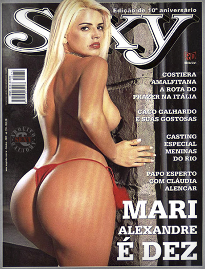 Download - Mari Alexandre - Revista Sexy