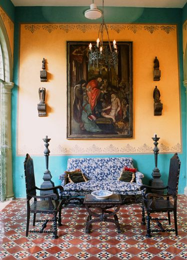 Eye For Design Decorating In Old Spanish Colonial Style