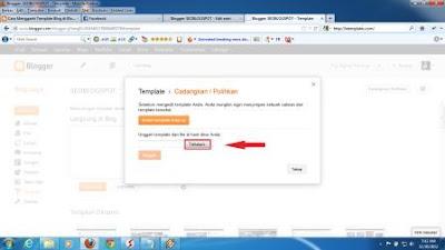 Mengganti Template Blog dengan Template Baru
