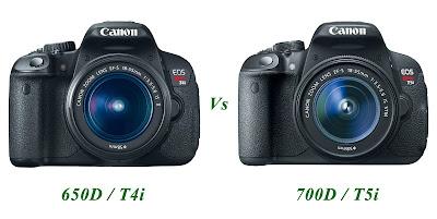 Canon EOS 650D VS Canon EOS 700D, Canon EOS 700D, touch screen