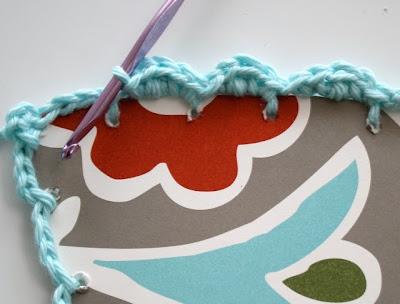 Reciclatex Cómo hacer marcos de crochet