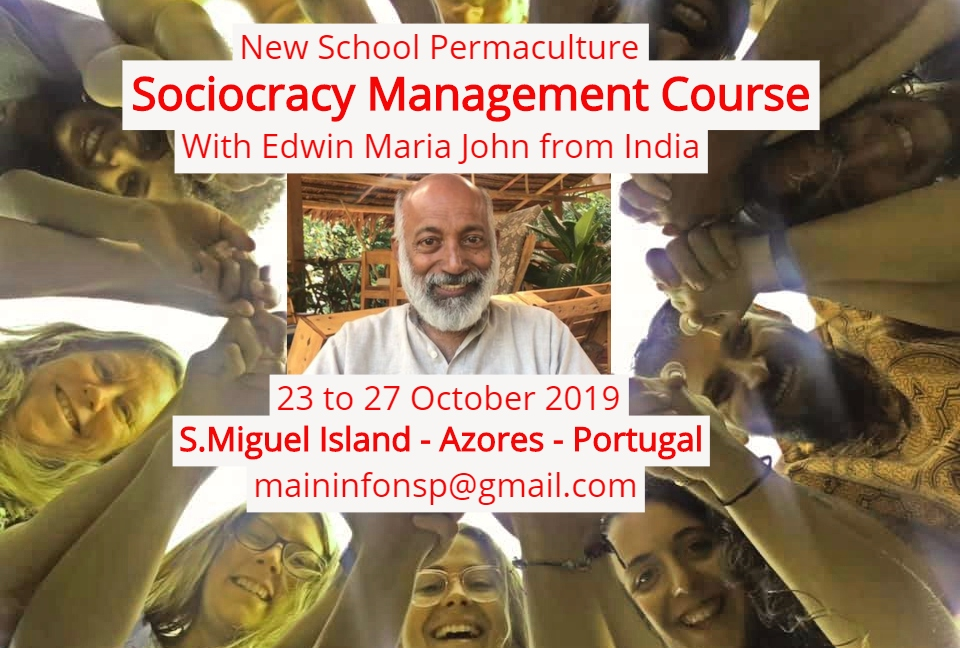 Sociocracy Management Course  (SMC) Island of S.Miguel