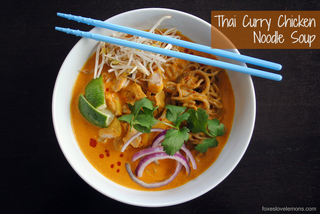 Download image Thai Curry Chicken Noodle Soup Recipe PC, Android ...