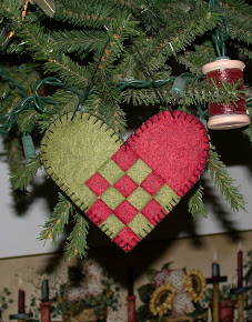 Woven Heart Ornament