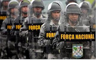 Força Nacional começa a chegar ao estado de Sergipe