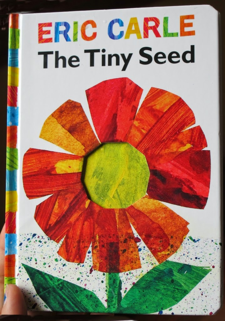 Look at children s illustrated books the tiny seed by eric carle