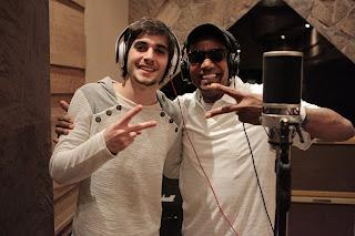 foto Fiuk e Jorge Benjor