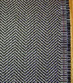 Tenun Tulang Ikan Haring Herringbone Weave