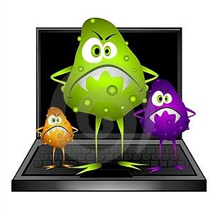 Tipos de virus de computadoras.