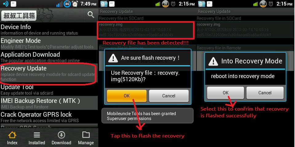Lenovo p780 - recovery и root - lenovo p780 - форум.