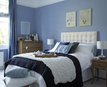 Pintar el dormitorio con colores relajantes cocinas - De que color pintar una habitacion ...