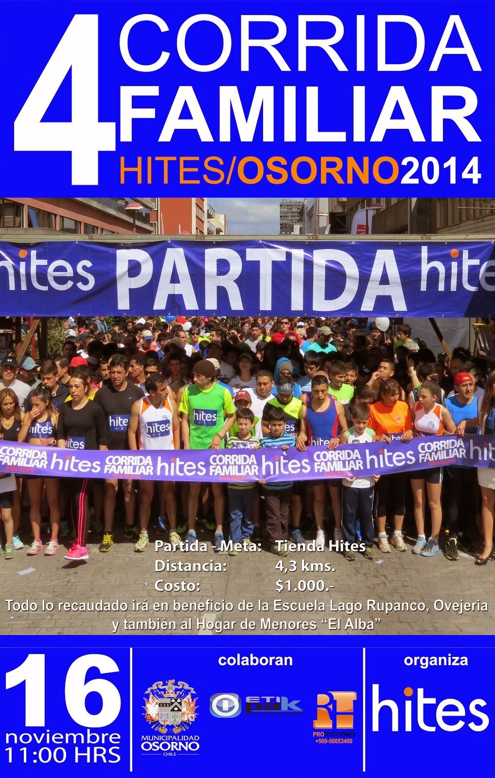 CORRIDA FAMILIAR HITES