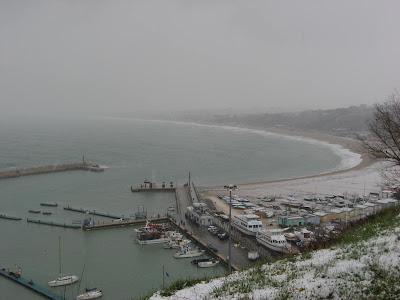 Porto e Numana Bassa innevati