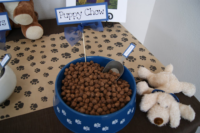 Party Guest Post Puppy Themed Party The Foley Fam