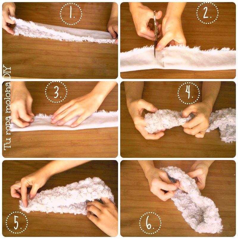 DIY como hacer un turbante
