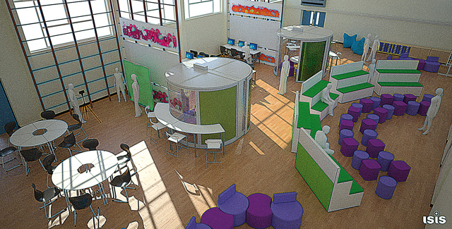 Innovative Use Of Classroom Space ~ Edtech innovations modern learning spaces what took so