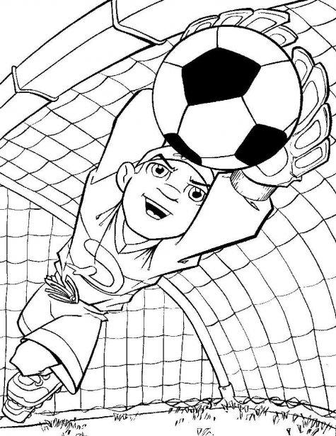 dibujos para colorear gratis imprimirlo: Dibujos Para Colorear De Futbol