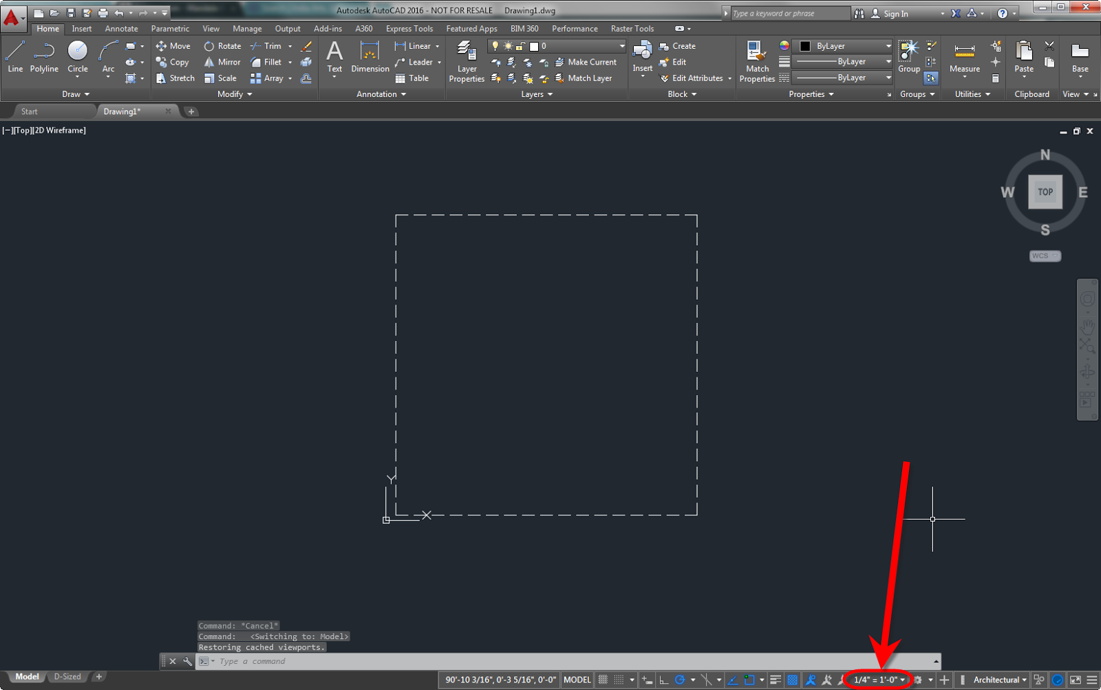 Drawing Lines With Arrows In Autocad : Ideate solutions how to display linetypes in autocad