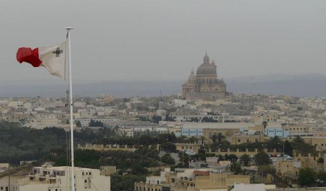 Widok z Cytadeli na Gozo, Victoria