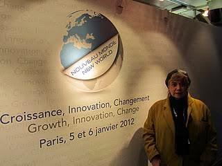 *BREF APERCU : Colloque Nouveau Monde le 5 et 6 janvier 2012 à Bercy*