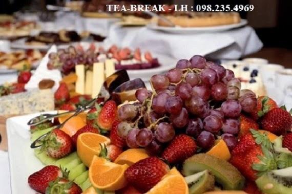 dịch vụ tea break tại hà nội