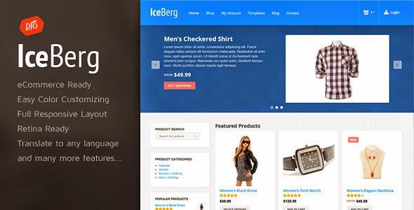 Iceberg – eCommerce Theme