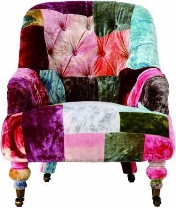 artesanato em tecido patchwork com veludo barato