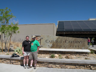 Outside the Carlsbad Caverns VC