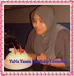 YaNa Yassin | Birthday Giveaway