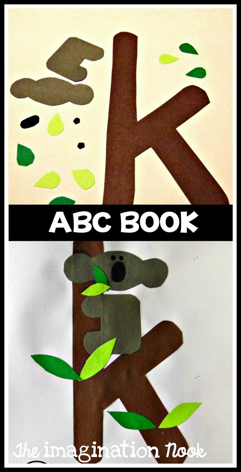 theimaginationnook  alphabet book and reading passages