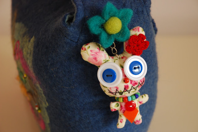 image of quirky key ring character