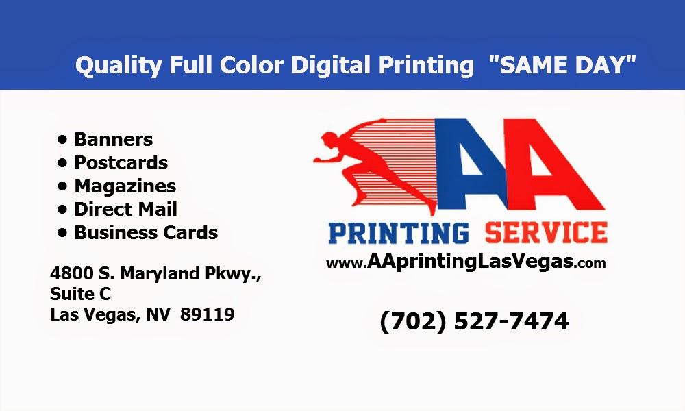 Aa printing service las vegas printer reheart Choice Image