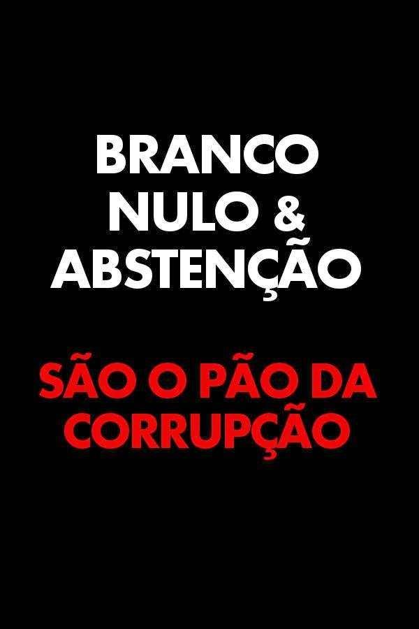 corrupção abstenção abuso