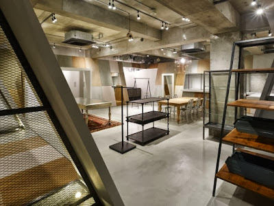 stunning loft interior design in factory outlet style promoting bird house shape room