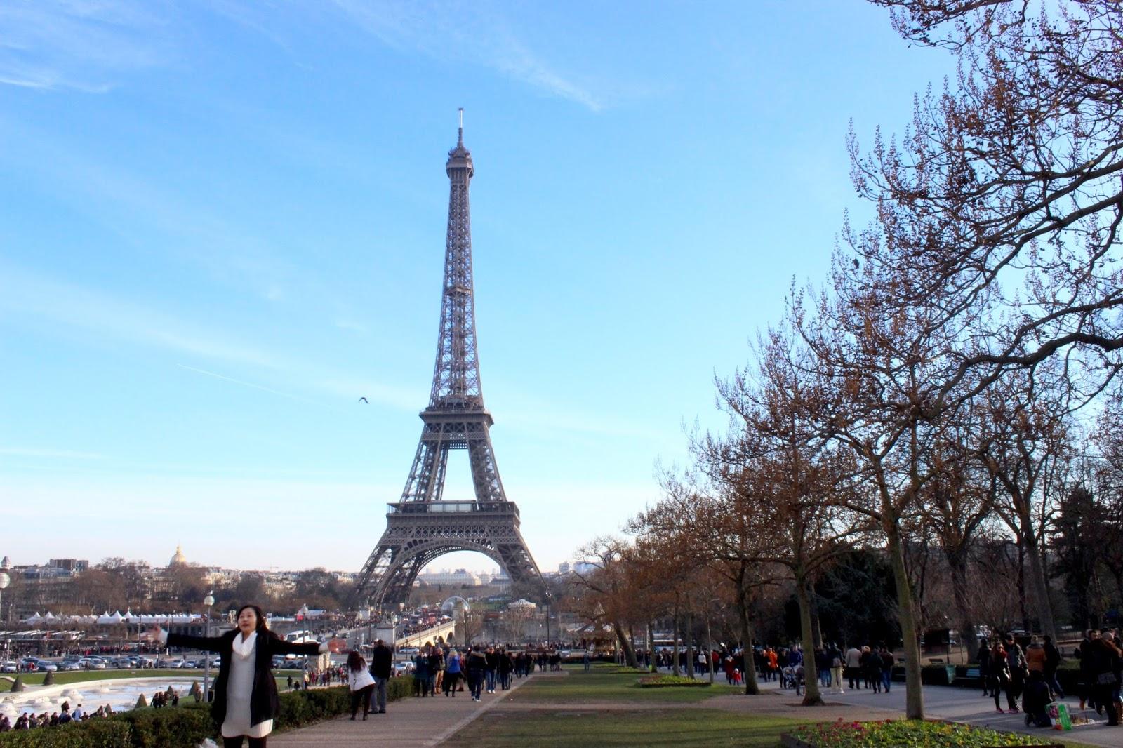 Jalan-Jalan di Paris - Jardin du Trocadero
