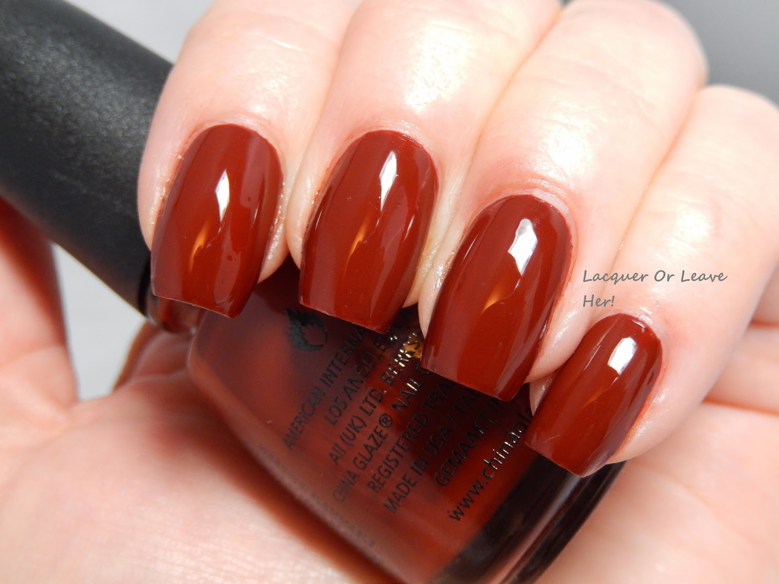 China Glaze Brownstone