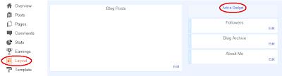 Blogger HTML Gadget