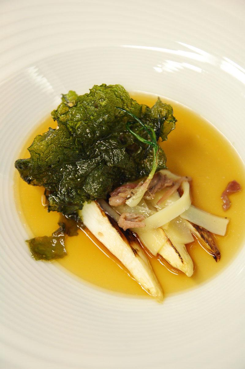 Cocinar Lechuga | Aula De Cocina Porto Muinos Recetas Cocinar Con Algas Esparragos