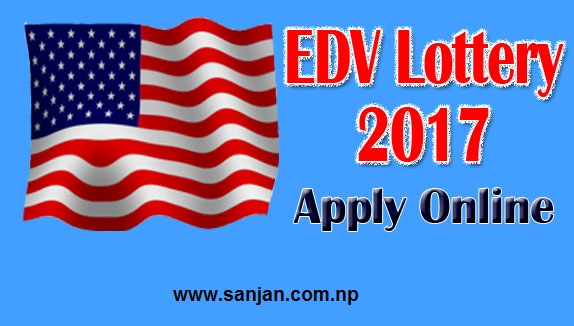 EDV 2017 Apply Now!!! DV Lottery 2017
