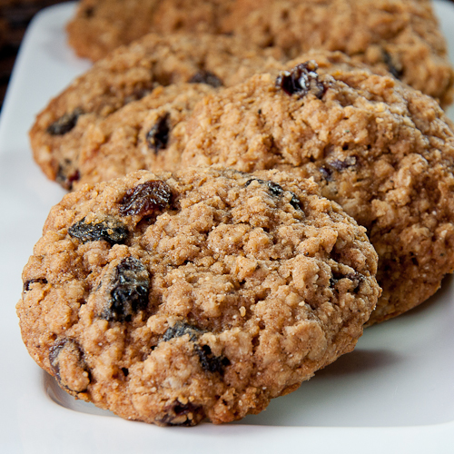 cookie, oatmeal, cherry